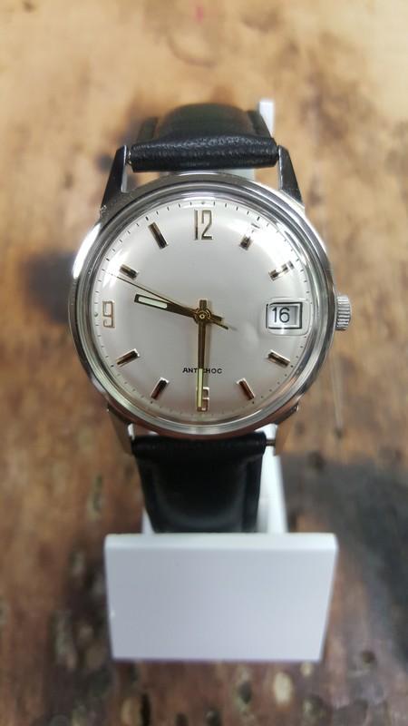 revendeur 57a34 1f397 montre vintage mécanique 100% francaise 0092.17
